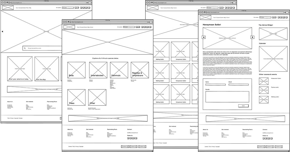 Validating product design ideas with low-fidelity wireframes