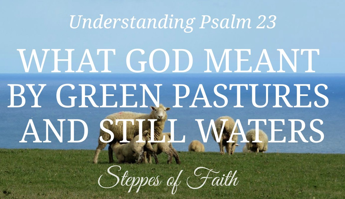 Understanding Psalm 23: What God Meant by Green Pastures and