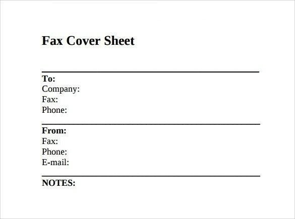 image about Fax Form Template named How in direction of Employ Fax Deal with Sheets and Templates - Amit Choudhary