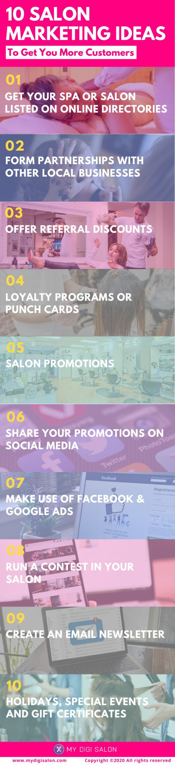 19+ Salon Marketing Ideas To Attract New Clients  by Arnoldo