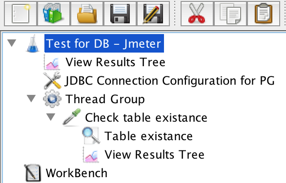 Automated tests for databases in JMeter - Ministry of