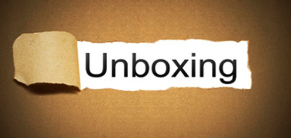 Unboxing—The living room experience