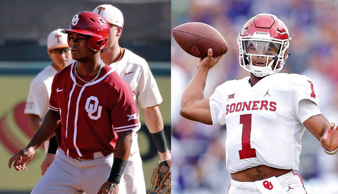 new product 8fa78 e734d Can Kyler Murray become the next Bo Jackson? - Riley Poole ...