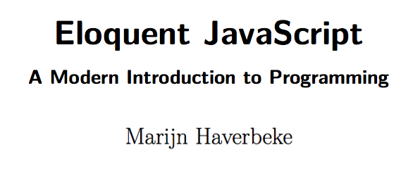 Getting started with Eloquent JavaScript - CloudBoost