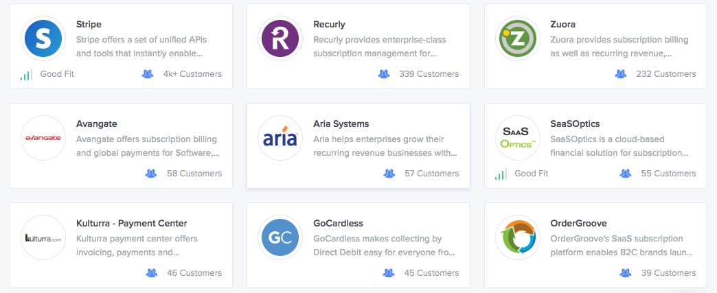 Top Recurring Billing And Payments Tools Compared Siftery Medium - What is recurring invoice for service business