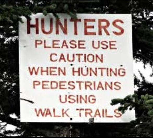 A public sign with a grammatical error, shows the difficulty of understanding natural language, even for humans.