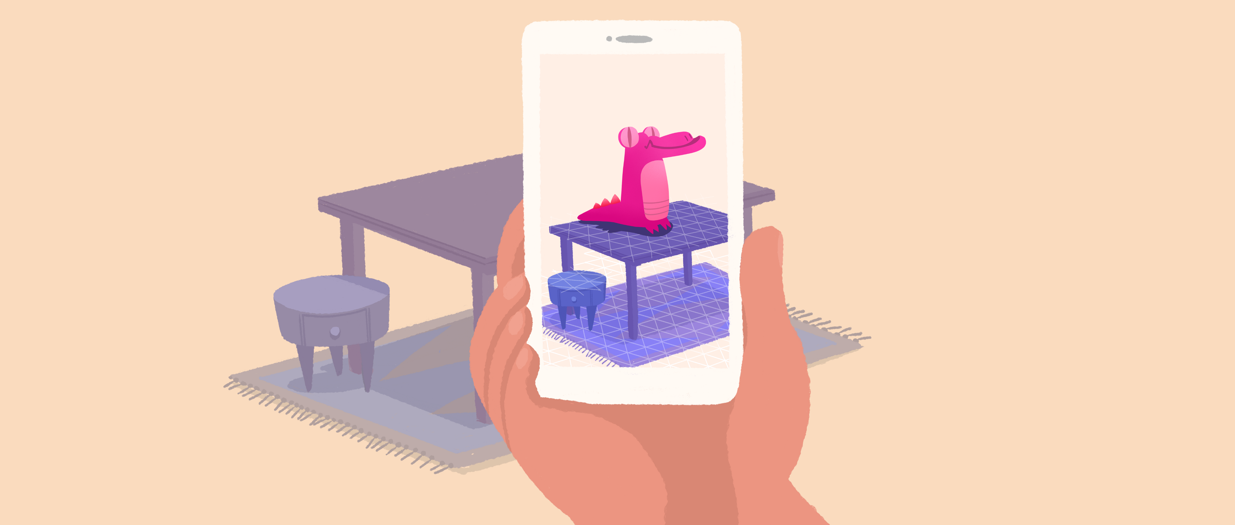 Mobile Augmented Reality - AR/VR Journey: Augmented