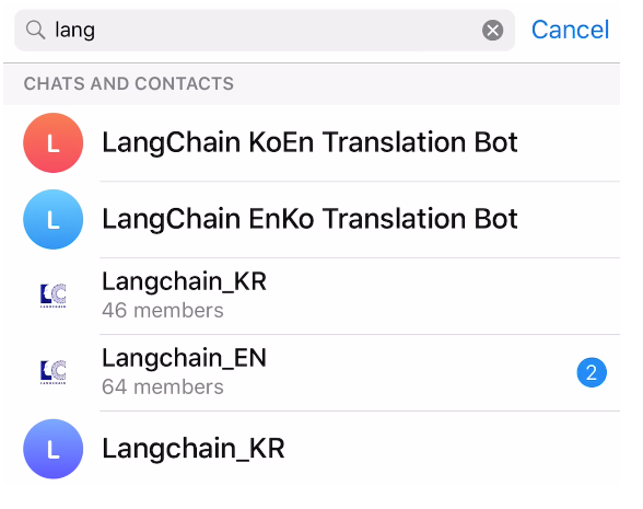 Powered by LangChain] We present you the translation bot for telegrams!