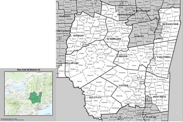 Map Of New York 19th Congressional District.The Hot Seat New York S 19th District The Hot Seat Medium