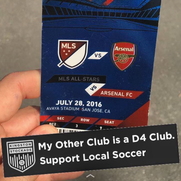 1c6a5951a The Snapchat filter we created for this year's MLS All Star Game in San  Jose, CA — ha!