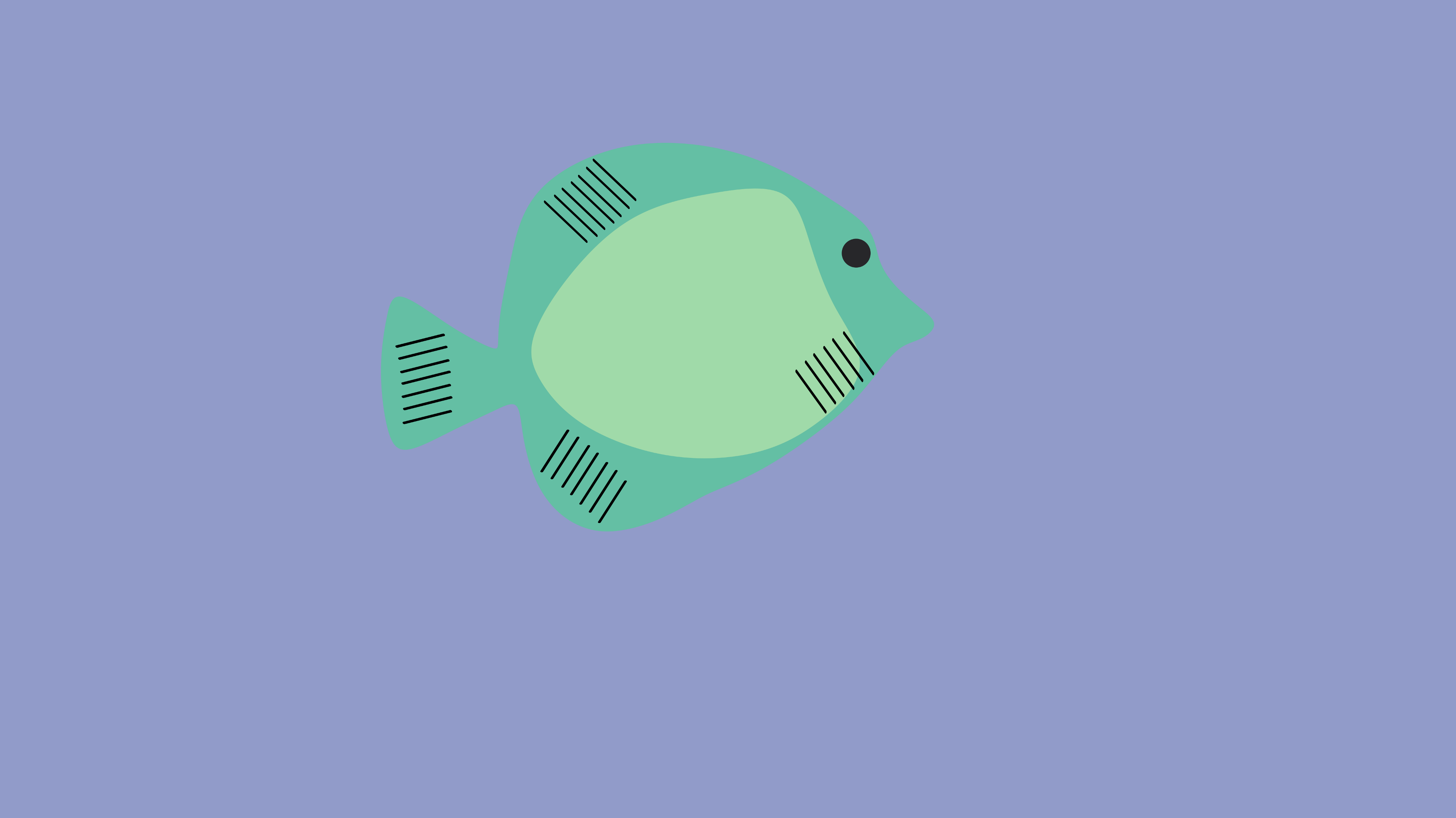 Fish illustration by melissa toldy