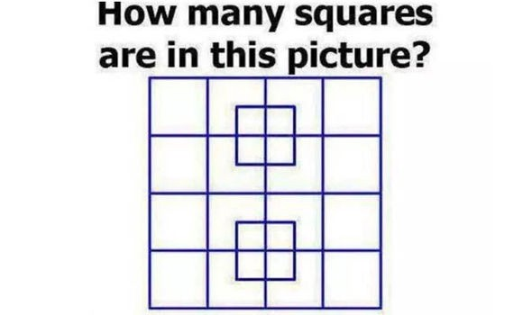 A typical IQ test question