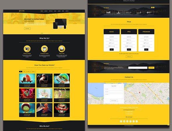 Free Responsive HTML5 CSS3 Website Templates - Level Up