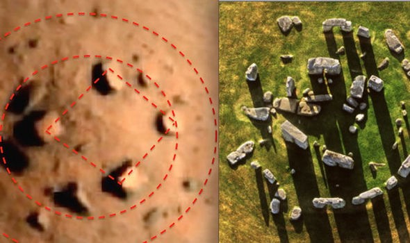 Martian Megaliths and Ancient Aliens