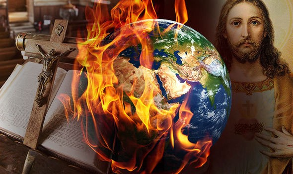 """One world church, Revelation 17 speaks of a """"great prostitute"""" a global false religion, Topic: Culture and religion."""