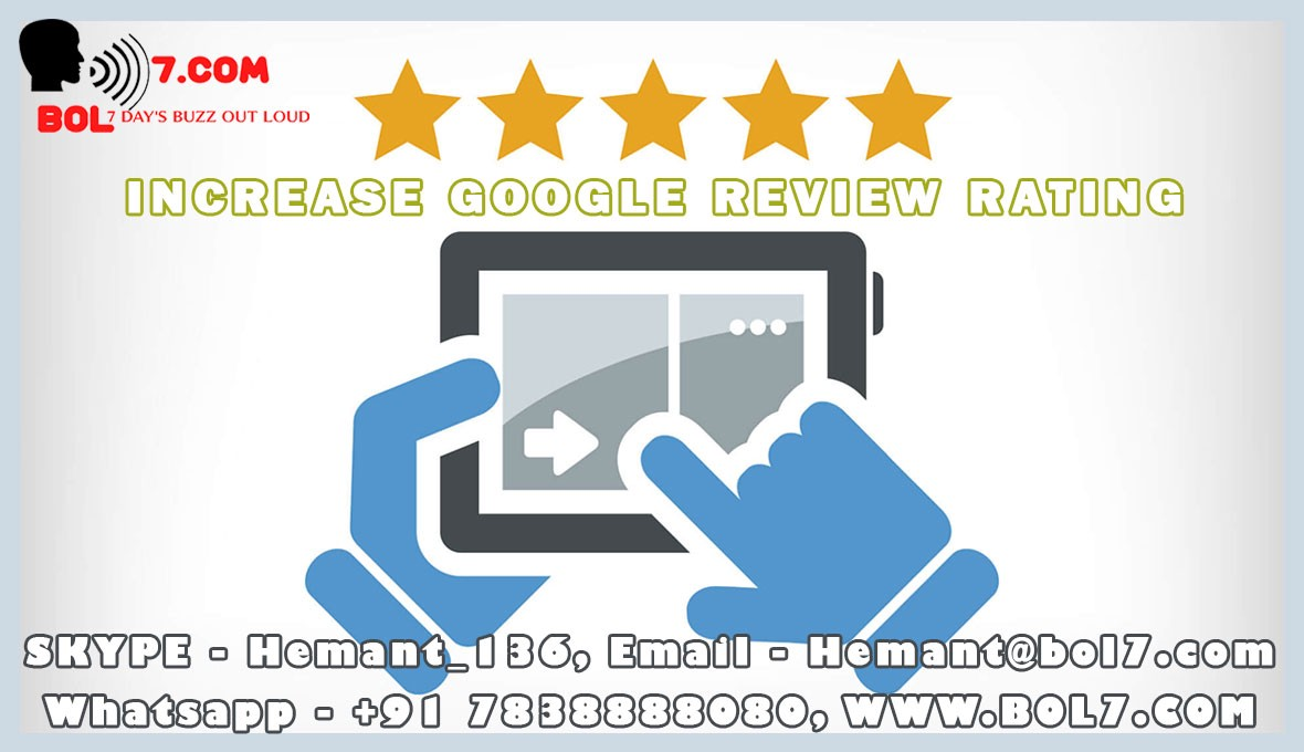 How to Increase Google Review Rating | Buy google review