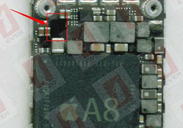 premium selection b794c 58d70 How to solve the iPhone 6 plus display problems problems_Logic Board ...