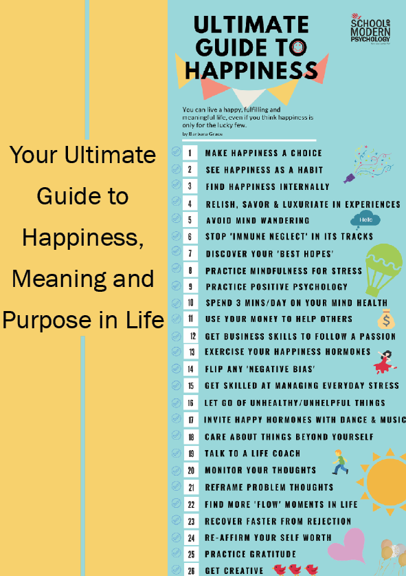 Your Ultimate Guide To Finding Happiness, Meaning and Purpose in
