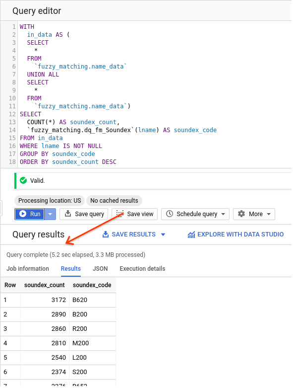 A Journey into BigQuery Fuzzy Matching — 2 of [1, ∞) — More