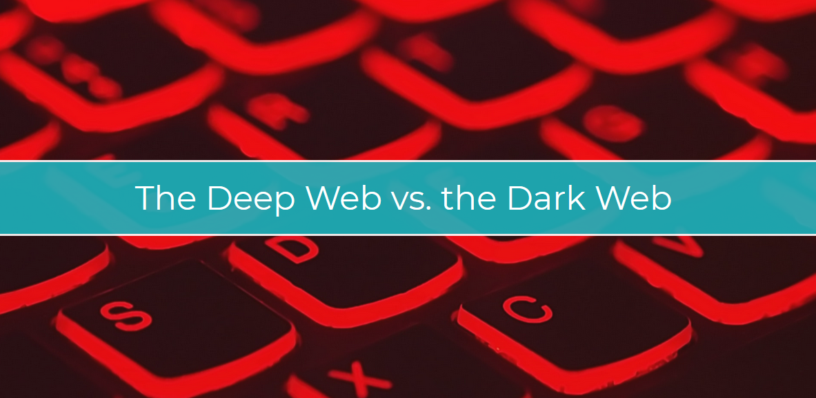 The Difference Between The Deep Web and The Dark Web