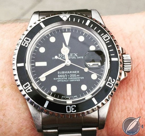 Rolex Submariner Reference 1680 from 1978