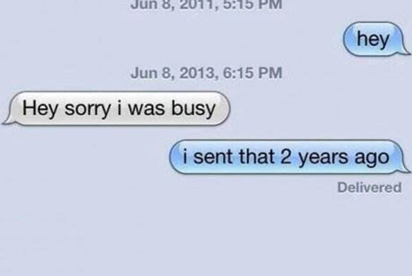 You're Not Too Busy to Text Back