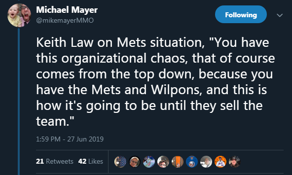 A Complete History of Media Reports Chronicling the Wilpons