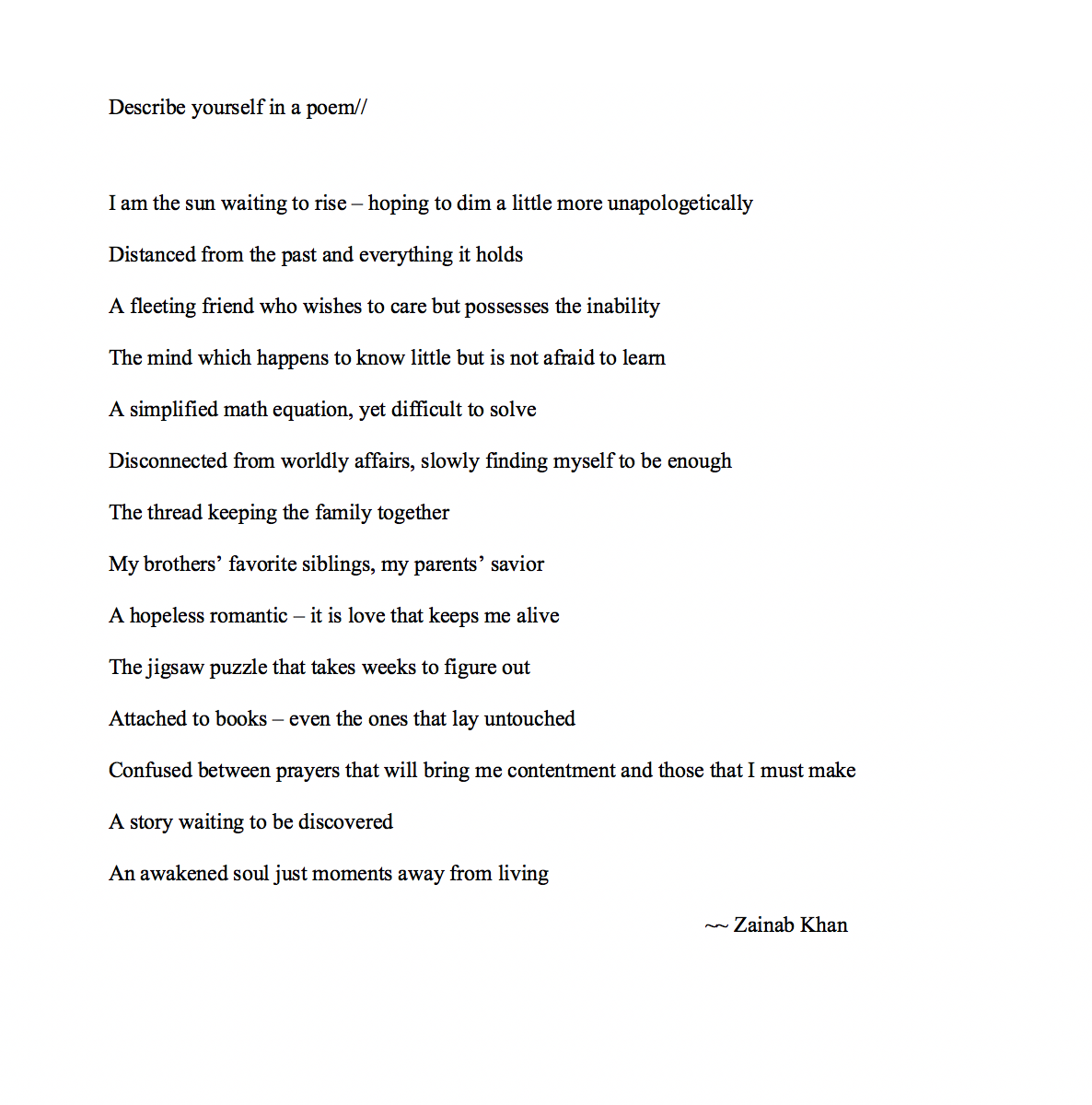 Poems about waiting for someone