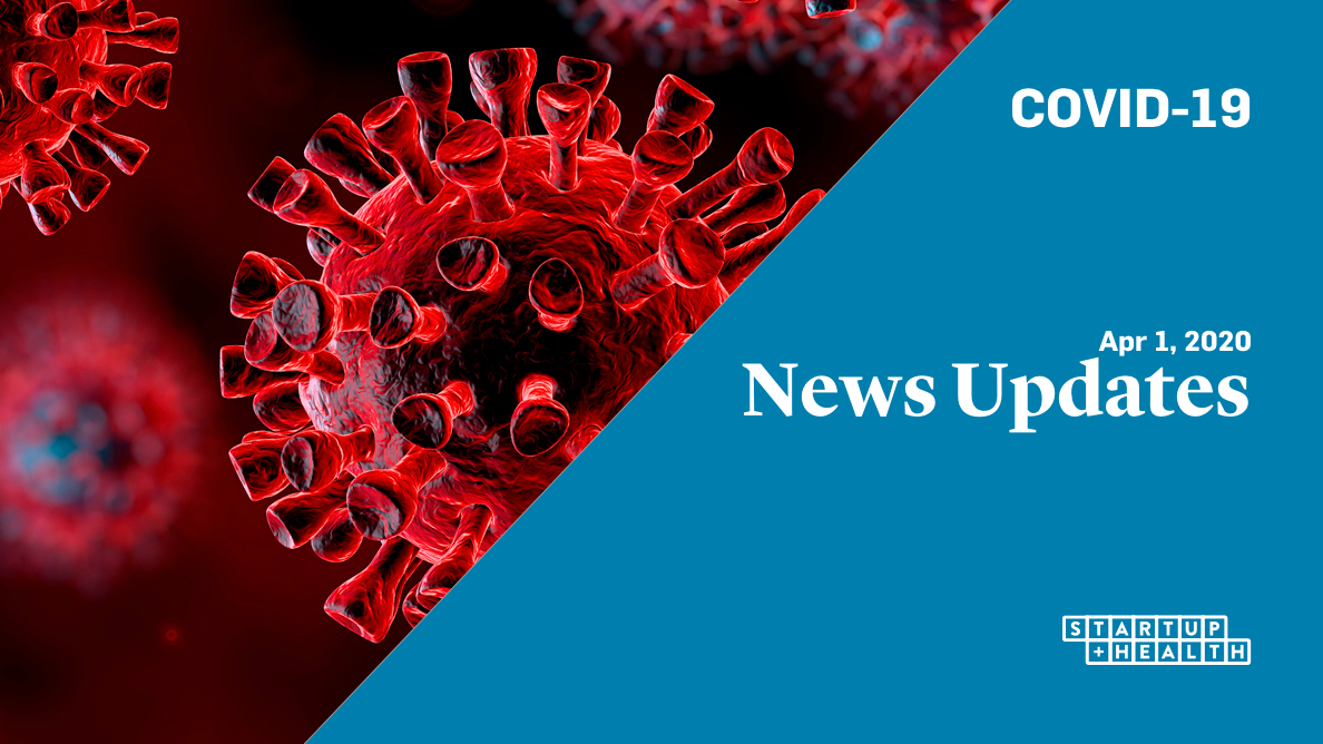 COVID-19 Daily News Round-Up | Apr 1, 2020