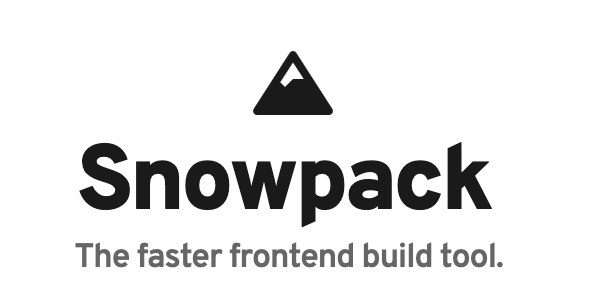 Snowpack's logo and slogan.