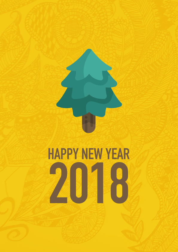 Making of New Year Greeting Card — Case Study - Gult - Medium