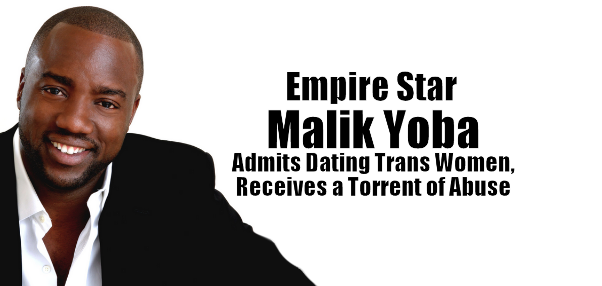 Empire Star Malik Yoba Admits Dating Trans Women, Receives a