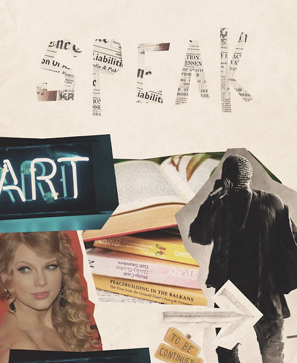 Your creative work doesn't speak for itself—collage by Jordan Brunelle