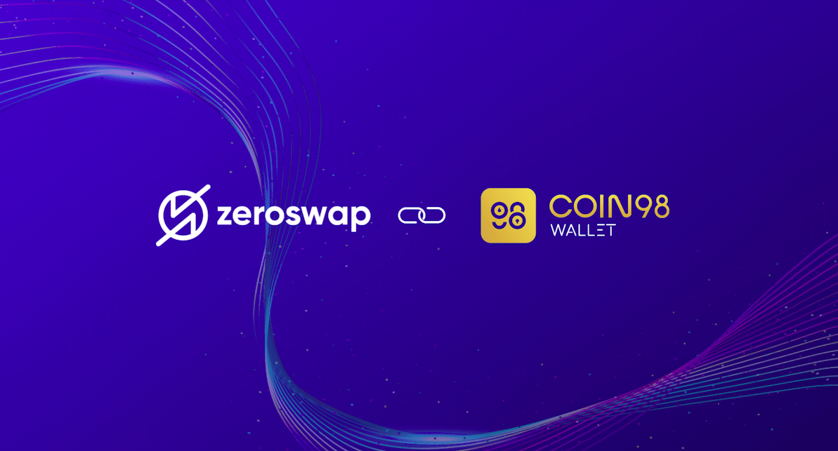 ZeroSwap Partners with Coin 98 Wallet.