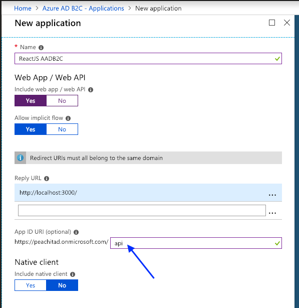 HOW TO — Secure your ReactJS frontend with Azure AD B2C