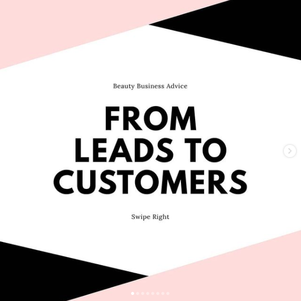 Beauty Business Advice: From Leads to Customers