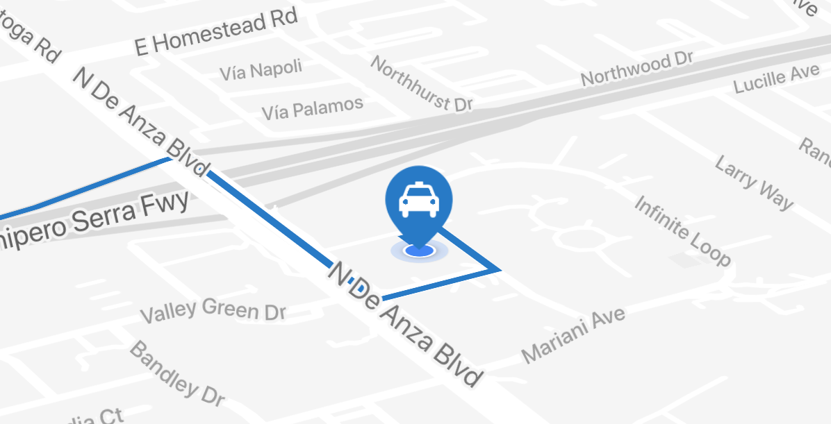 Implement Real Time Location Updates On Google Maps In Your