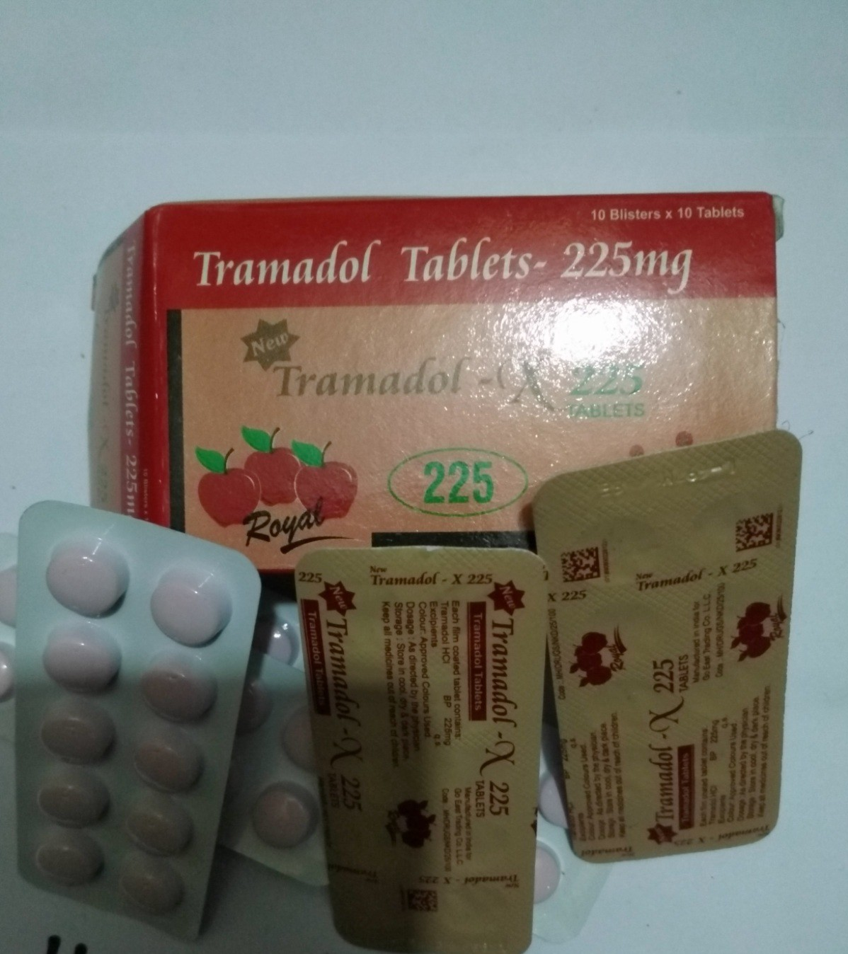Tramadol 225 Mg Tablets For Sale