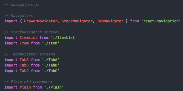 React Navigation: Stacks, Tabs, and Drawers … Oh my!