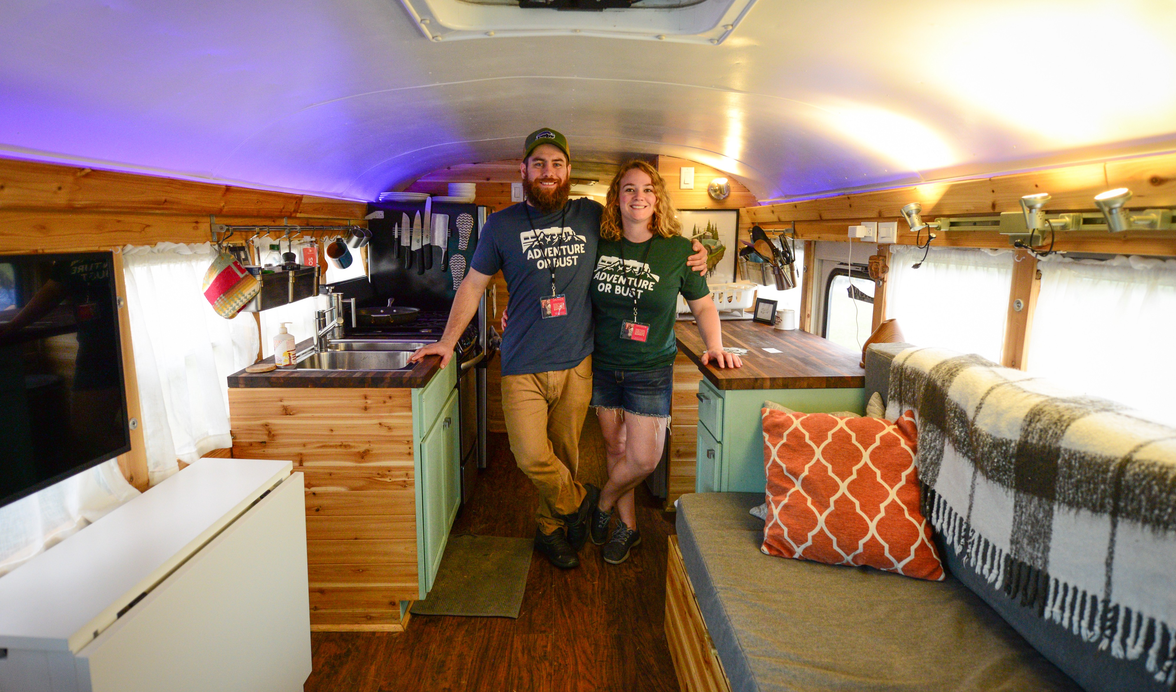 How converting a school bus into a home made me a better