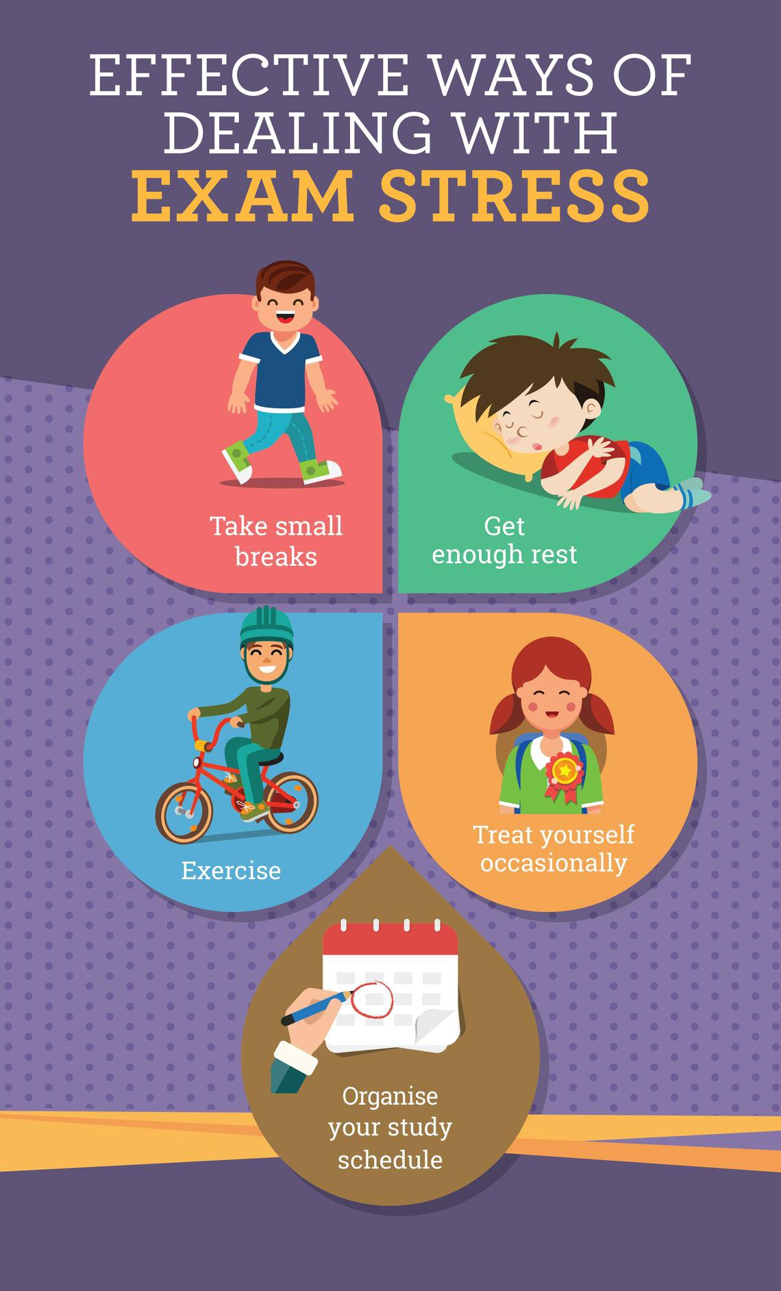 How To Deal With Exam Stress: Tips From Child Psychologists