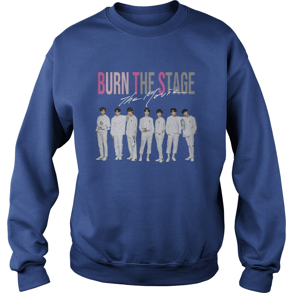 Cool: BTS burn the stage the movie t-shirt - Bazaar store