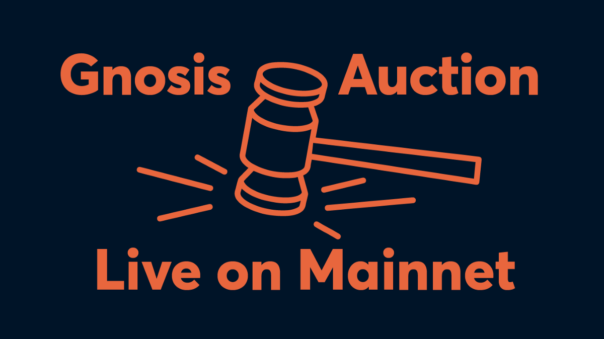 Announcing Gnosis Auction Launch