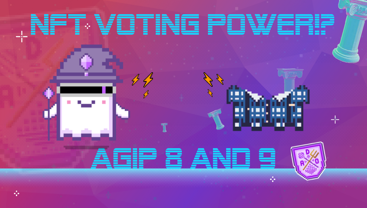 [VOTE] #AGIP8 and #AGIP9—Give Voting Power to Aavegotchis and Wearables