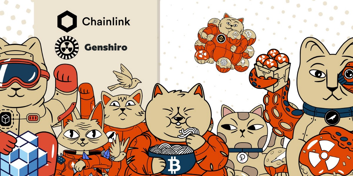 Genshiro Integrates Chainlink Price Feeds In Its NFT Tokens