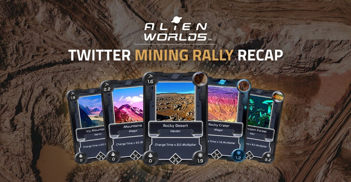 """""""It Was Awesome!"""" Alien Worlds Twitter Mining Rally Recap"""