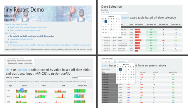 How To Create Interactive Reports In R Markdown Part III