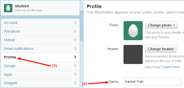 How To Change Your Twitter Name - SOFT SEO TOOLS - Medium