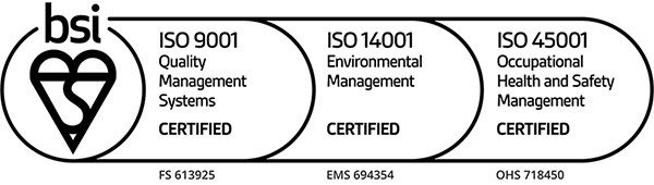 Hilger Crystals—ISO 9001:2015, ISO 14001:2015 and ISO 45001:2018 Certified