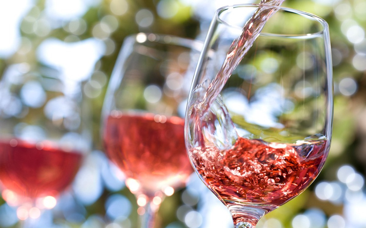 Raise A Pink Glass for National Rosé Day